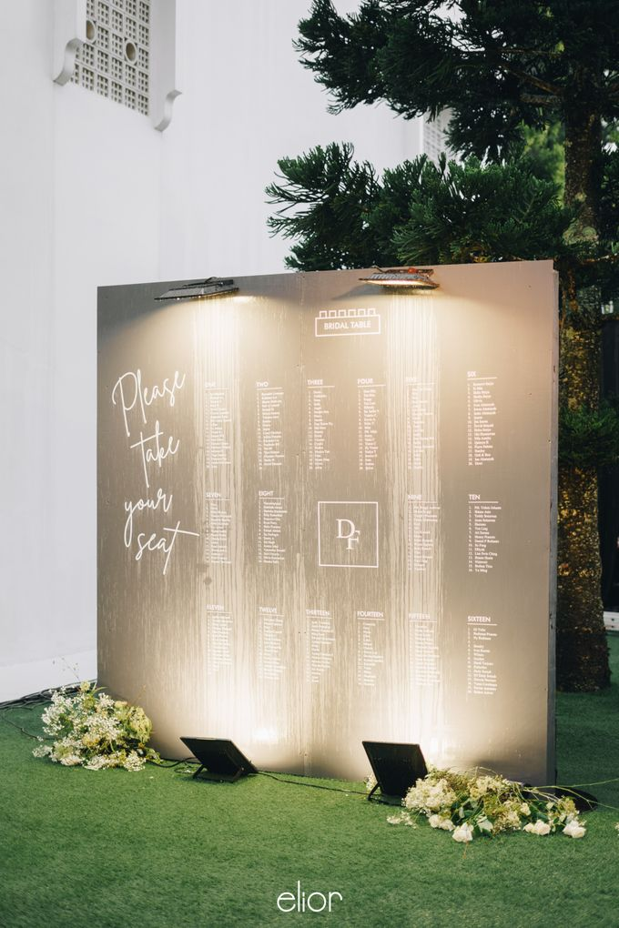 The Wedding Of David & Felicia by Elior Design - 048