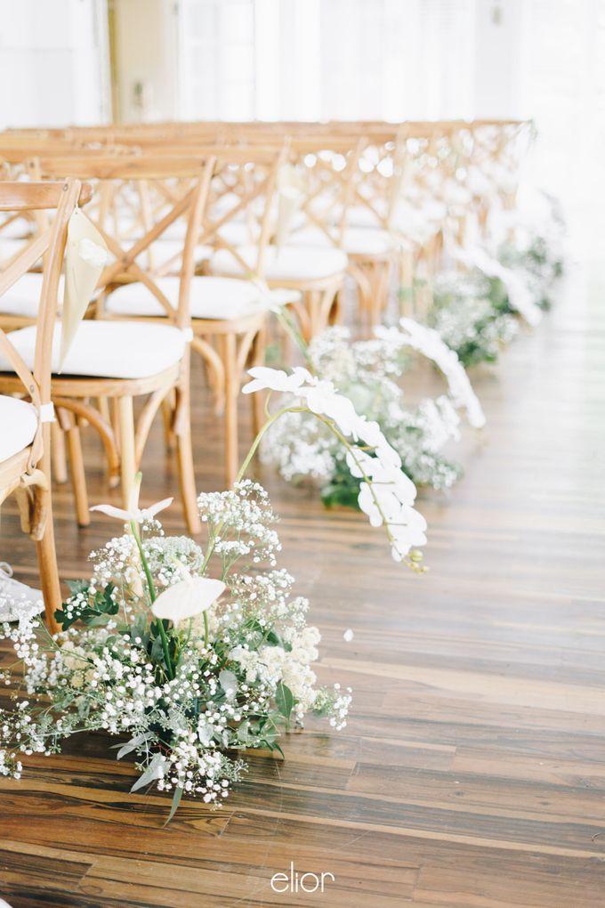 The Wedding Of David & Felicia by Elior Design - 028