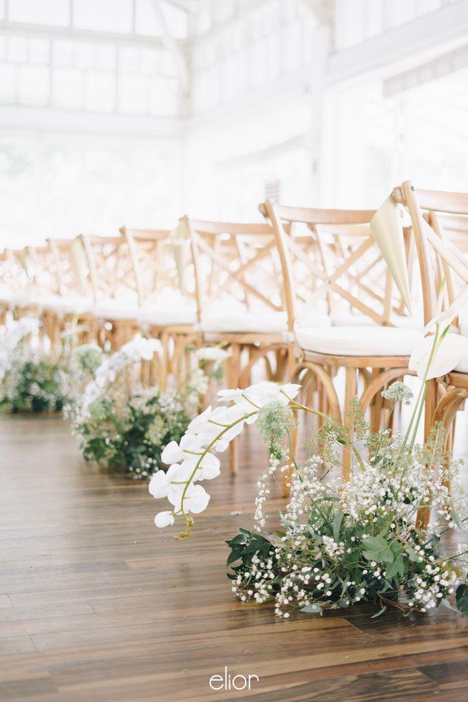 The Wedding Of David & Felicia by Elior Design - 029