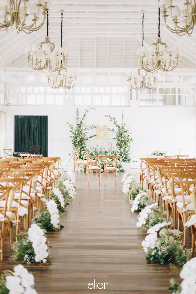 The Wedding Of David & Felicia by Elior Design - 030