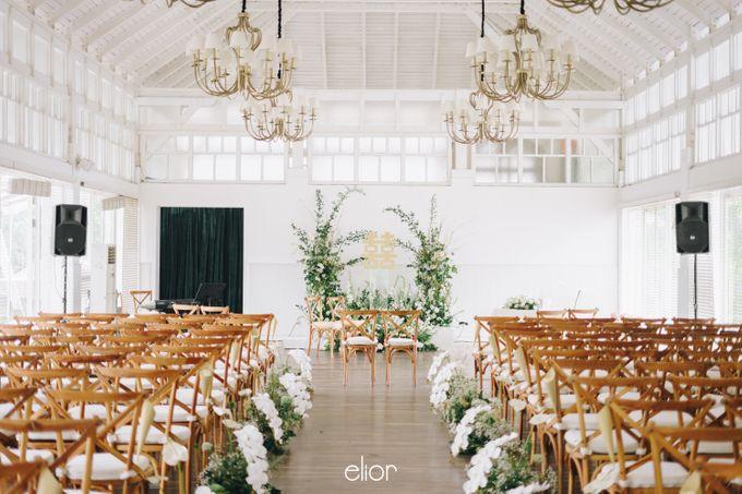 The Wedding Of David & Felicia by Elior Design - 031