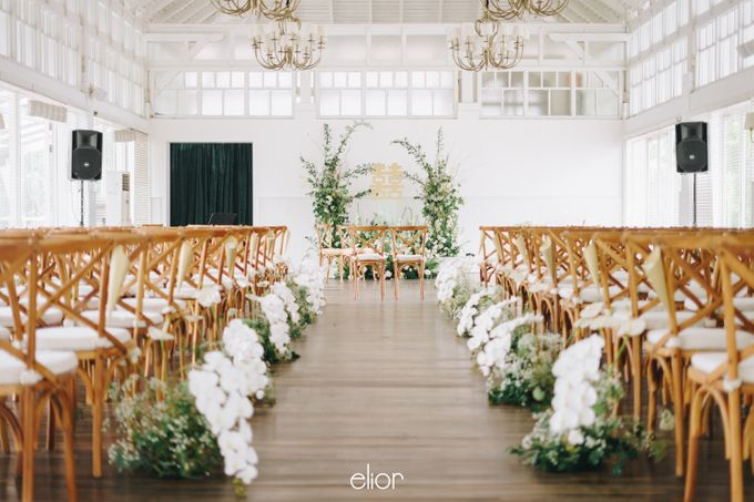 The Wedding Of David & Felicia by Elior Design - 032