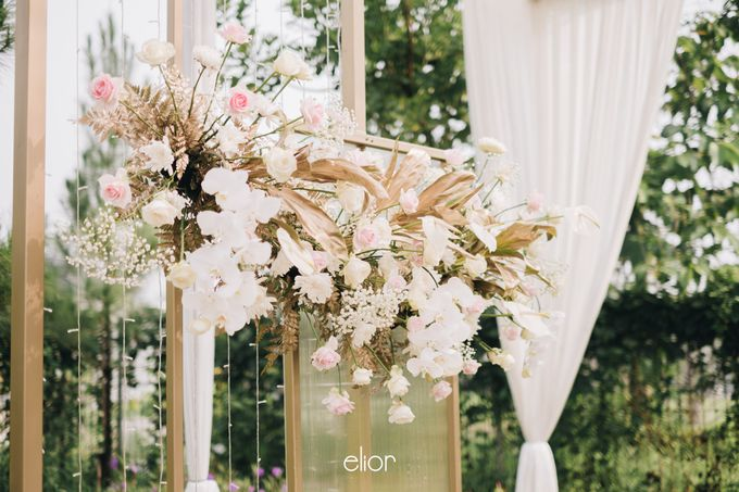 The Wedding of David & Bianca by Elior Design - 012