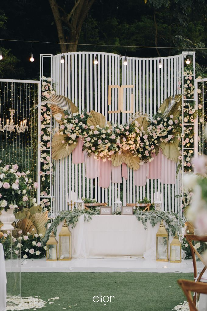 The Wedding of David & Gita by Elior Design - 001
