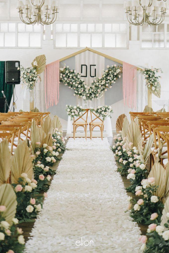 The Wedding of David & Gita by Elior Design - 002
