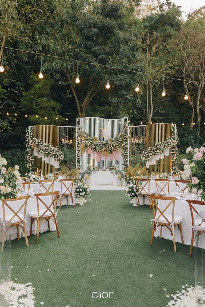 The Wedding of David & Gita by Elior Design - 007