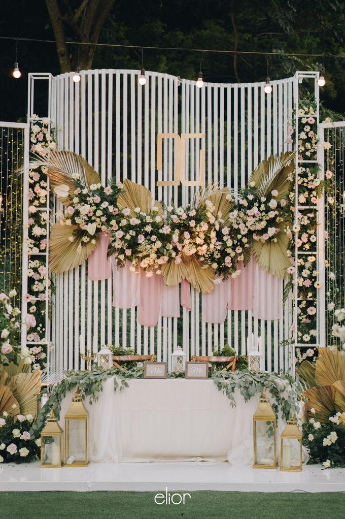 The Wedding of David & Gita by Elior Design - 003