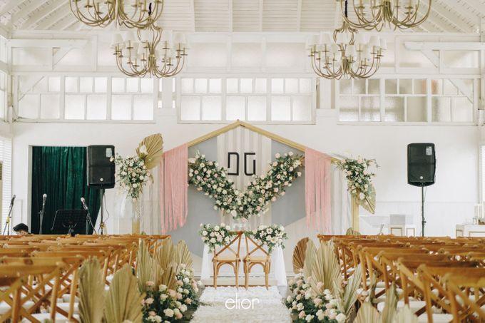 The Wedding of David & Gita by Elior Design - 004