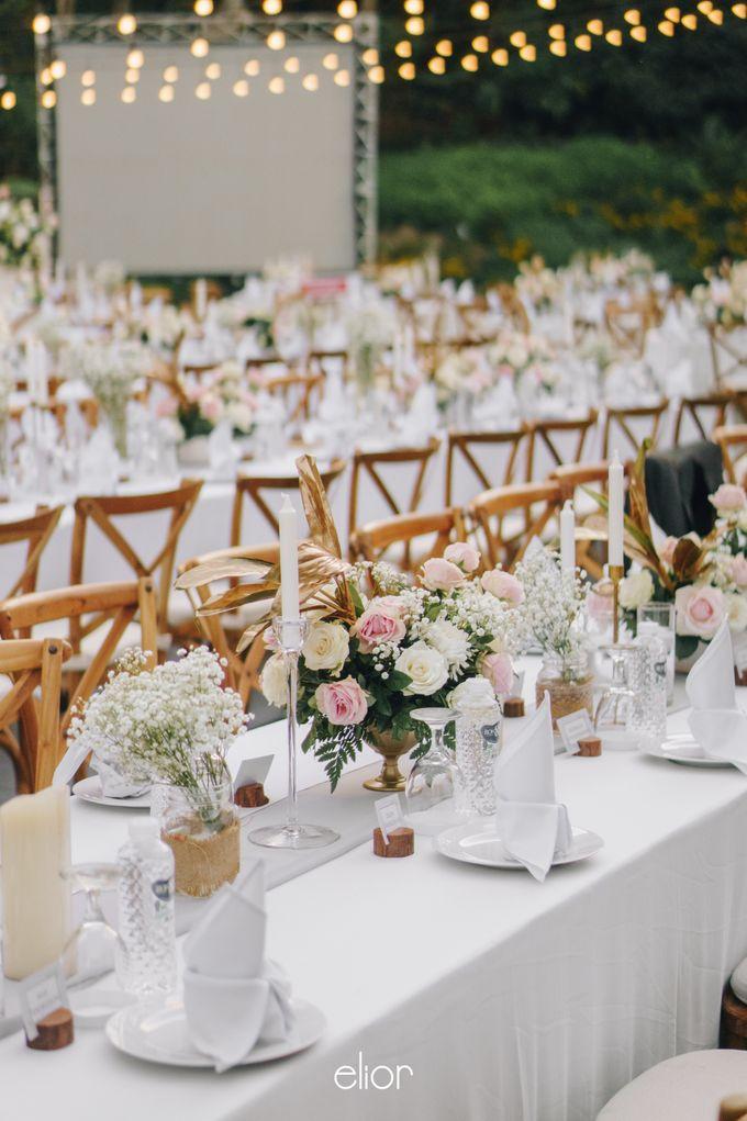 The Wedding of David & Gita by Elior Design - 009