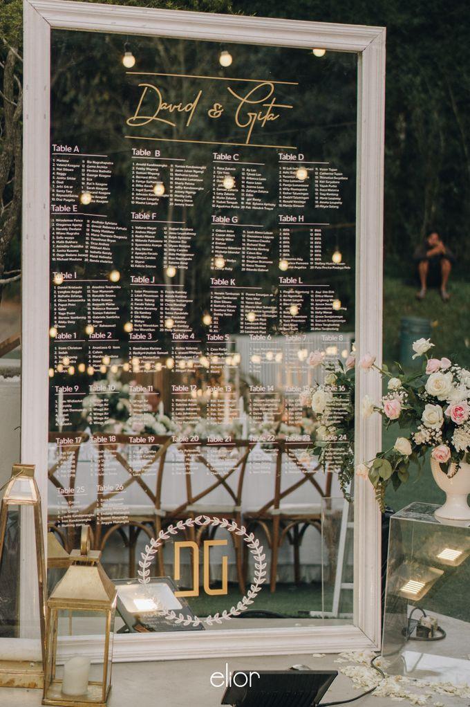 The Wedding of David & Gita by Elior Design - 010