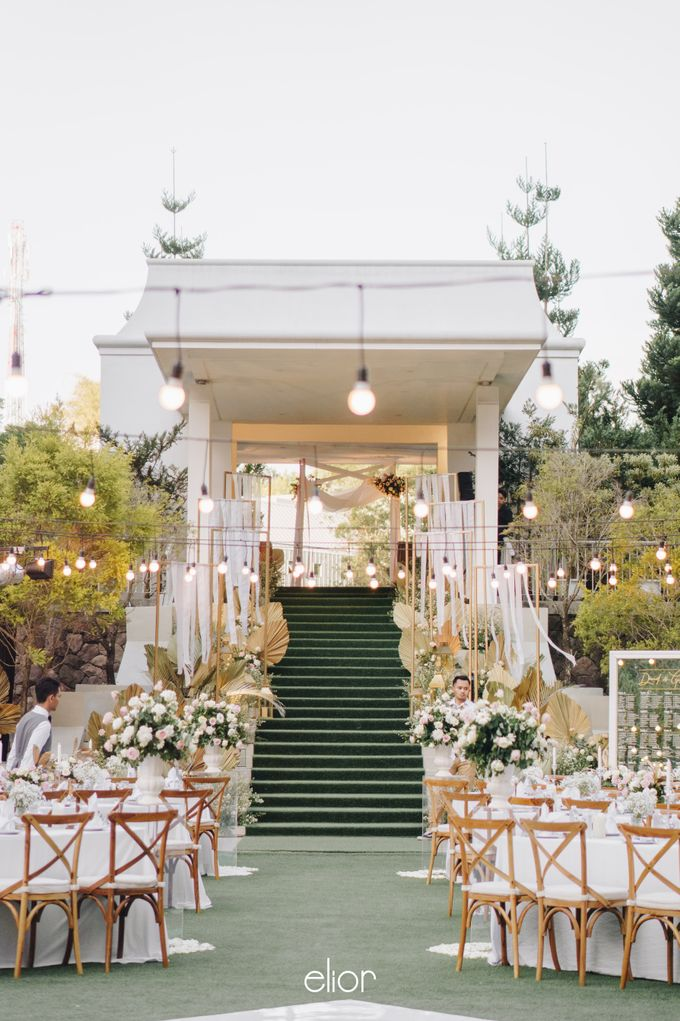 The Wedding of David & Gita by Elior Design - 012