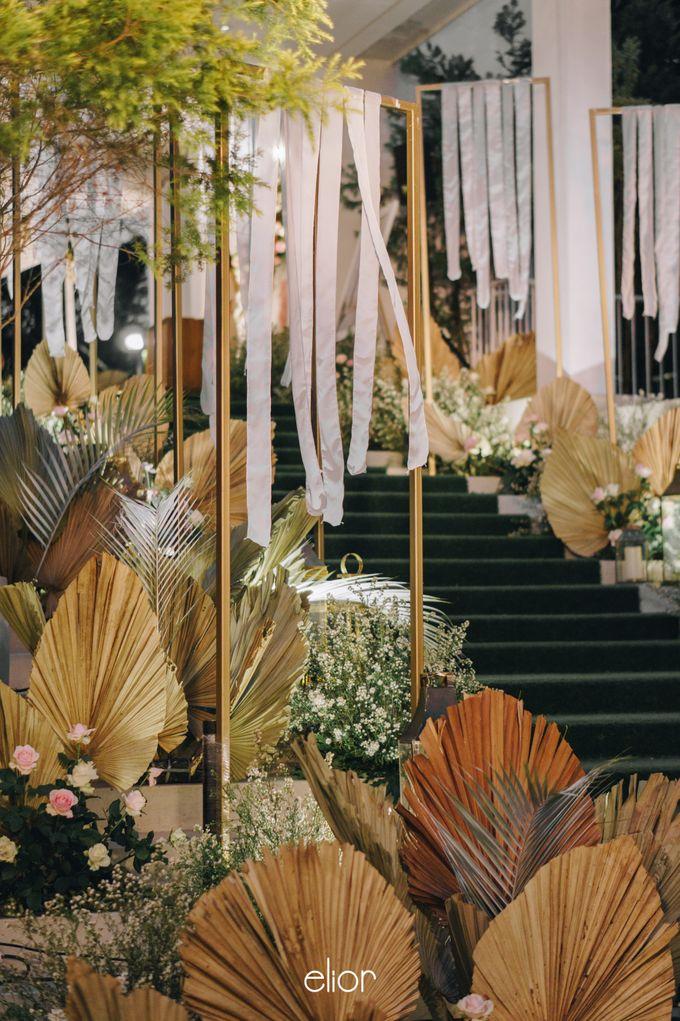 The Wedding of David & Gita by Elior Design - 016