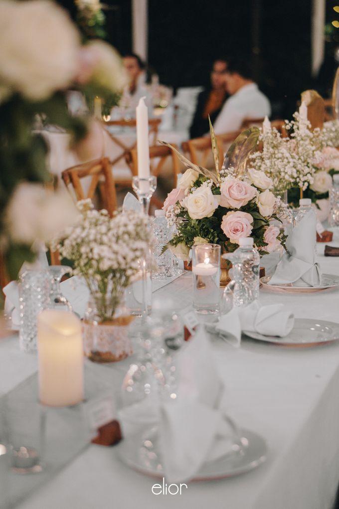 The Wedding of David & Gita by Elior Design - 017