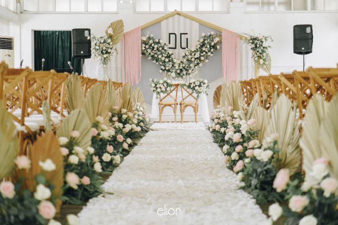 The Wedding of David & Gita by Elior Design - 005
