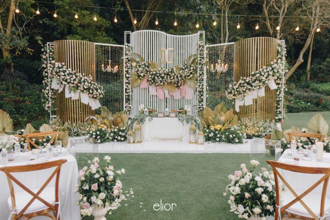 The Wedding of David & Gita by Elior Design - 006
