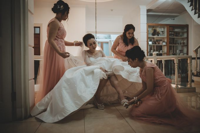 Davin & Penny Wedding Day by Chroma Pictures - 016