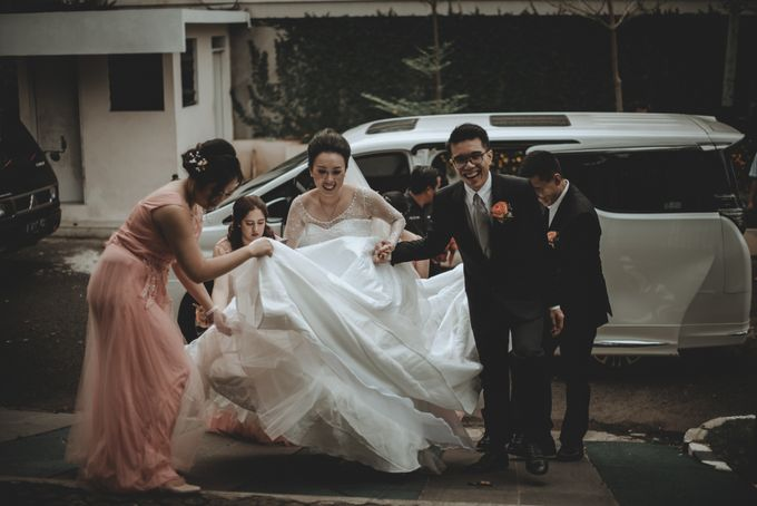 Davin & Penny Wedding Day by Chroma Pictures - 030