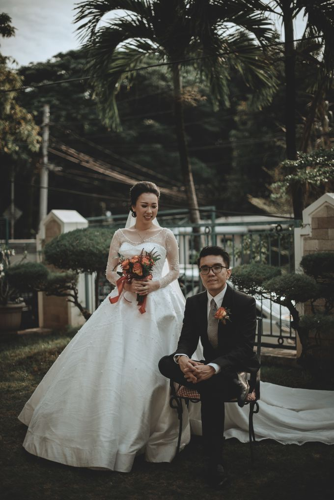 Davin & Penny Wedding Day by Chroma Pictures - 024