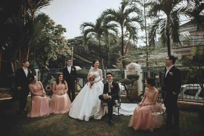 Davin & Penny Wedding Day by Chroma Pictures - 025