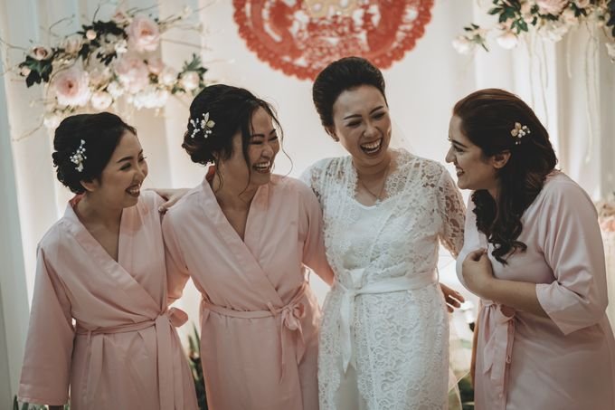 Davin & Penny Wedding Day by Chroma Pictures - 012