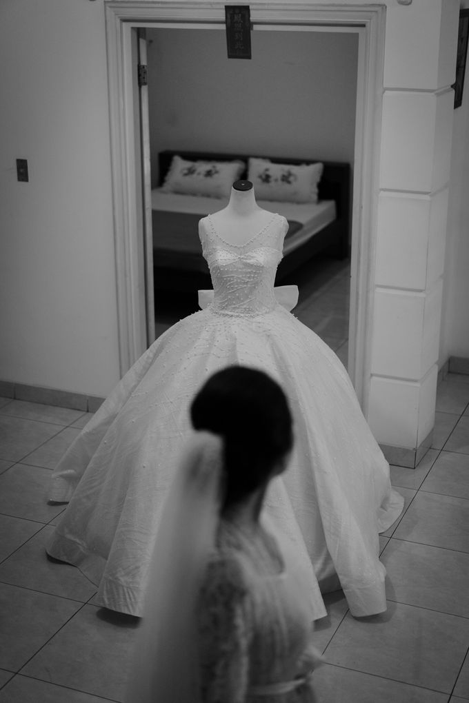Davin & Penny Wedding Day by Chroma Pictures - 014