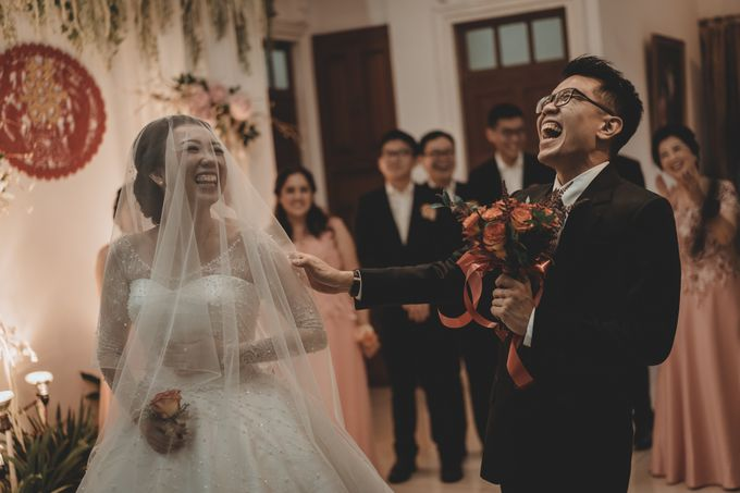 Davin & Penny Wedding Day by Chroma Pictures - 021