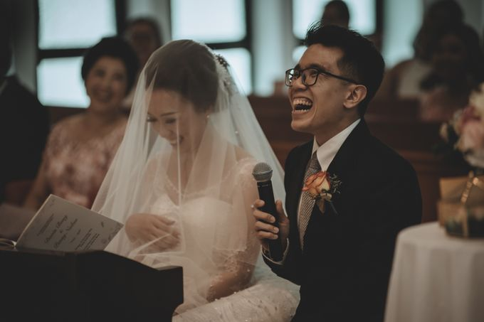 Davin & Penny Wedding Day by Chroma Pictures - 035