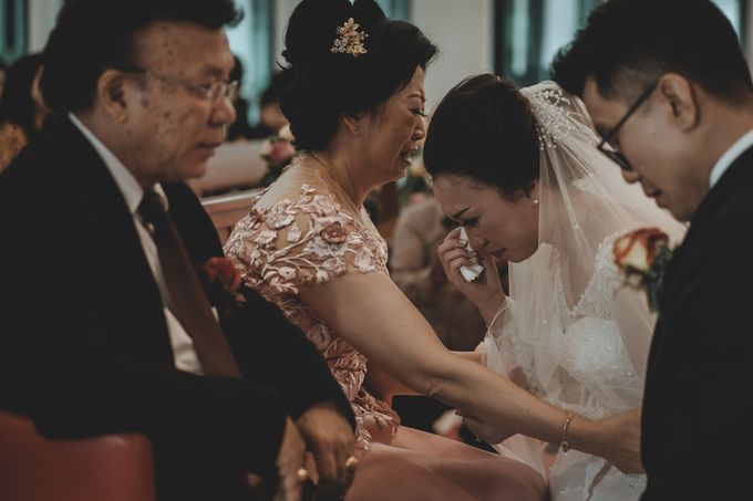 Davin & Penny Wedding Day by Chroma Pictures - 039