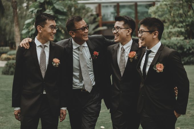 Davin & Penny Wedding Day by Chroma Pictures - 048