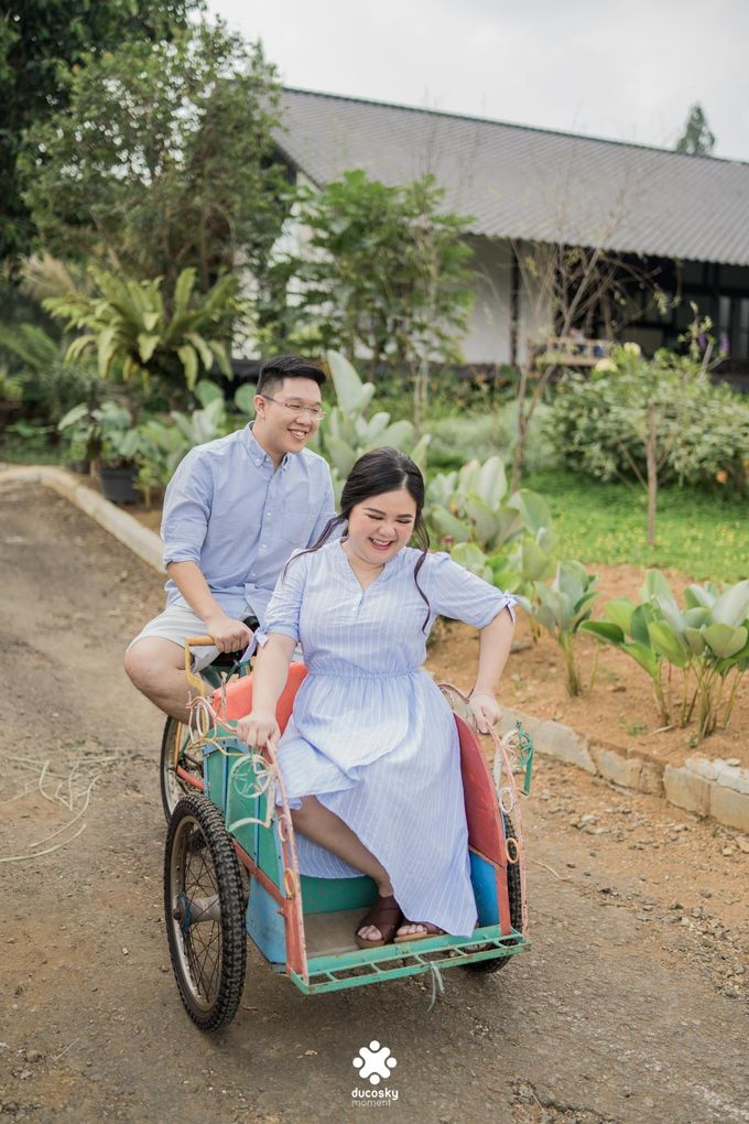 Davine Kartini Pre-Wedding | Countryside by Ducosky - 001