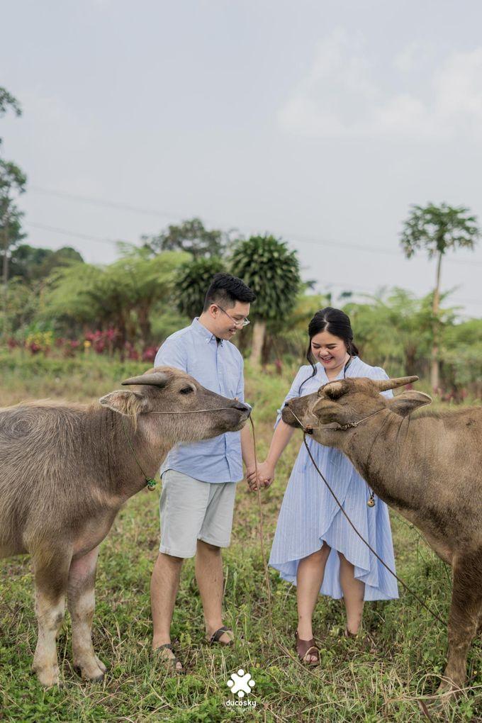 Davine Kartini Pre-Wedding | Countryside by Ducosky - 007