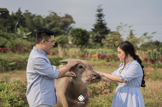 Davine Kartini Pre-Wedding | Countryside by Ducosky - 009