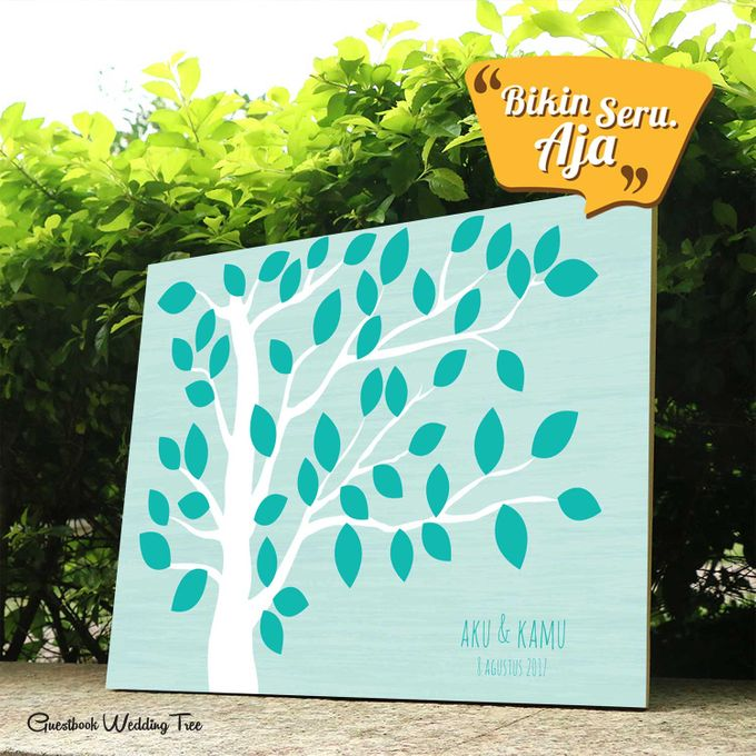 Canvas Guestbook Wedding Artwork ( Tree-01) by Bikinseru.aja - 006
