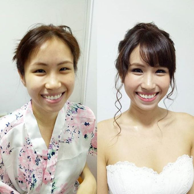Bridal Makeovers by Star Glamour Artistry Pte Ltd - 014