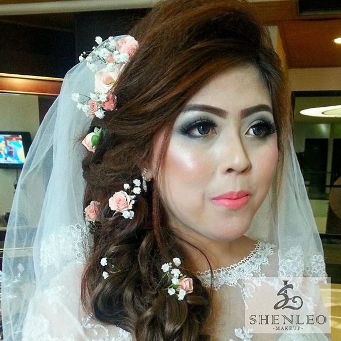 wedding makeup by ShenLeo Makeup - 009