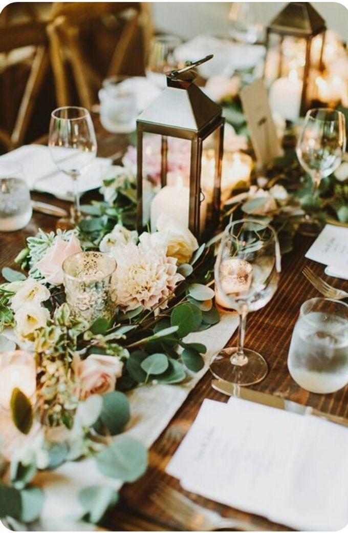 Dining Floral Arrangement by Dorcas Floral - 006