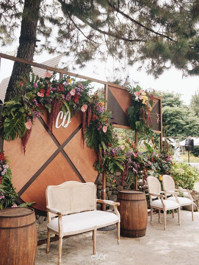 The Vibrant Tropical Wedding of Christa & Dede by Elior Design - 001