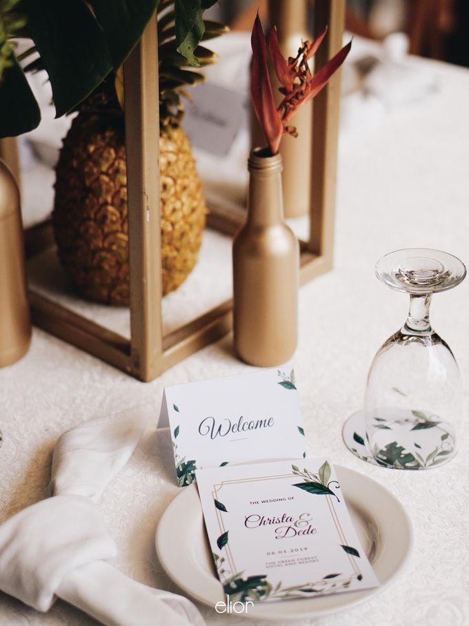The Vibrant Tropical Wedding of Christa & Dede by Elior Design - 010