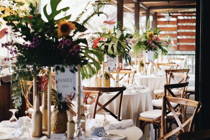 The Vibrant Tropical Wedding of Christa & Dede by Elior Design - 013