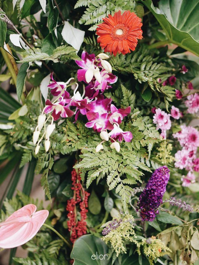 The Vibrant Tropical Wedding of Christa & Dede by Elior Design - 015