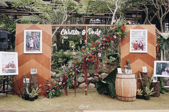 The Vibrant Tropical Wedding of Christa & Dede by Elior Design - 002
