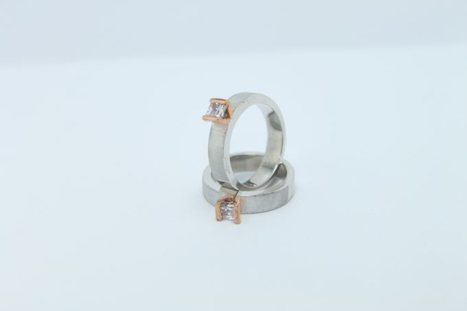 wedding ring simple Design by V&Co Jewellery - 017