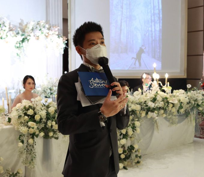 MC Wedding Intimate Fairmont Jakarta - Anthony Stevven by Anthony Stevven - 032