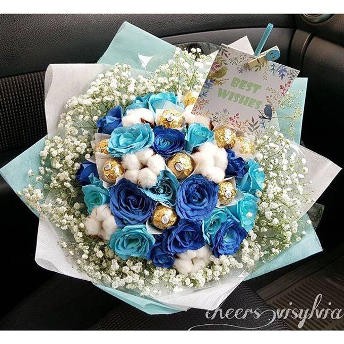 Gift Bouquet  by visylviaflorist - 021