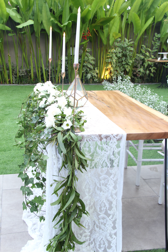 Decoration for Wedding and Dinner area 20 pax by DD Blossoms - 002