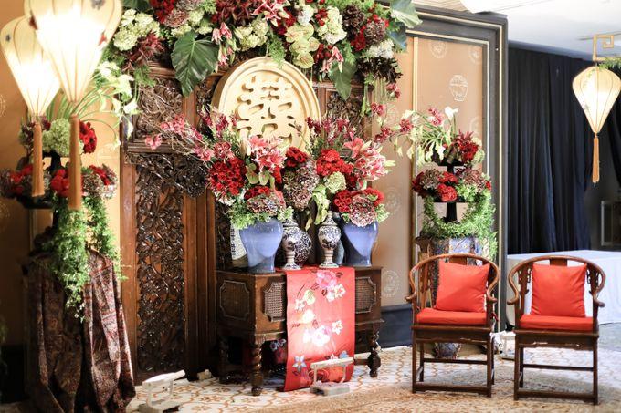 Tea Pai & Reception of Hardwi & Della by Stupa Caspea Event Decoration - 001