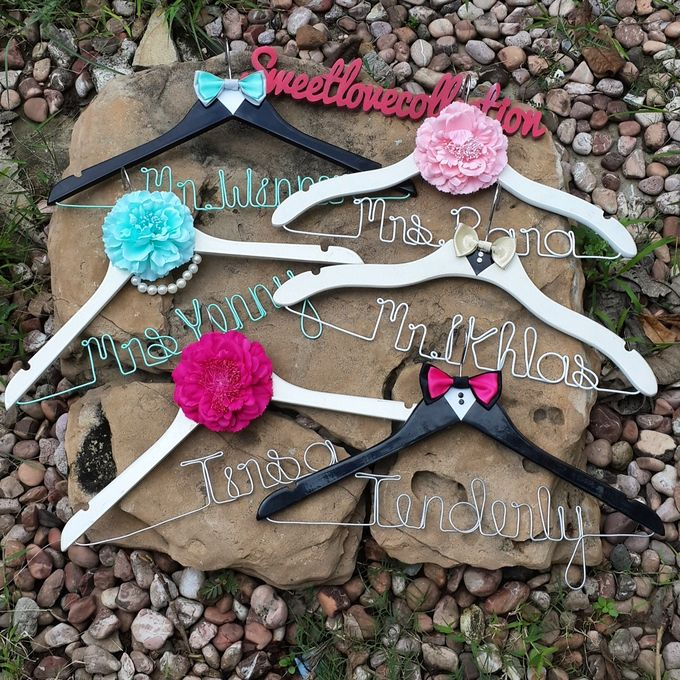 Wedding Hanger Name by Sweetlovecollection - 038