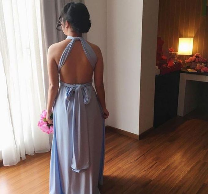 Bridesmaid of Andy and Deasy Wedding by The White Gallery - 002