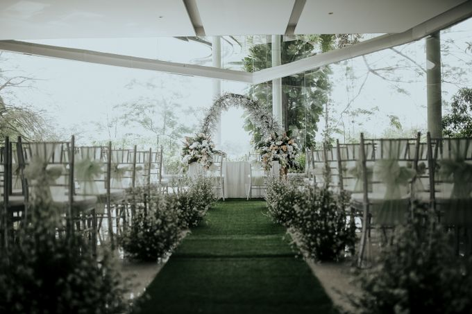 DANIA & EGAR by Raffles Hills Cibubur - On Green Garden Venue - 001