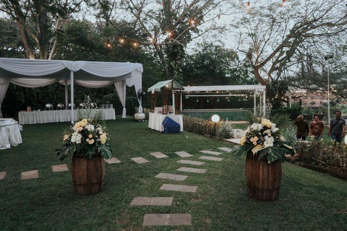 DANIA & EGAR by Raffles Hills Cibubur - On Green Garden Venue - 014